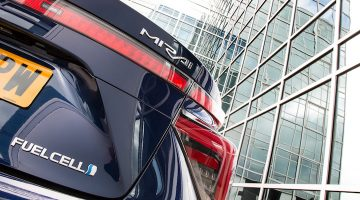 Weekend roadtest: Toyota Mirai FCV