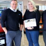 Service with a smile & luxury break at Celtic Mitsubishi