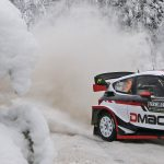 Elfyn evens the score in snowy Sweden
