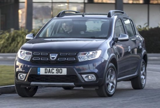 dacia sandero stepway 2017 wheels within wales. Black Bedroom Furniture Sets. Home Design Ideas
