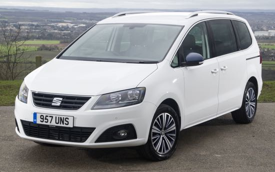 weekend roadtest seat alhambra connect 150 wheels. Black Bedroom Furniture Sets. Home Design Ideas