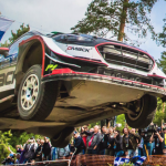 Elfyn puts in 110% to mount Finland podium