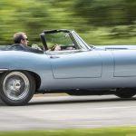 Jaguar show E-type Zero
