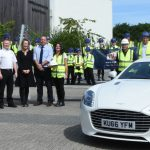 Welsh pupils treated to Aston Martin experience