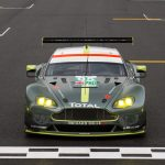 Welsh dragon on Aston Martin racer