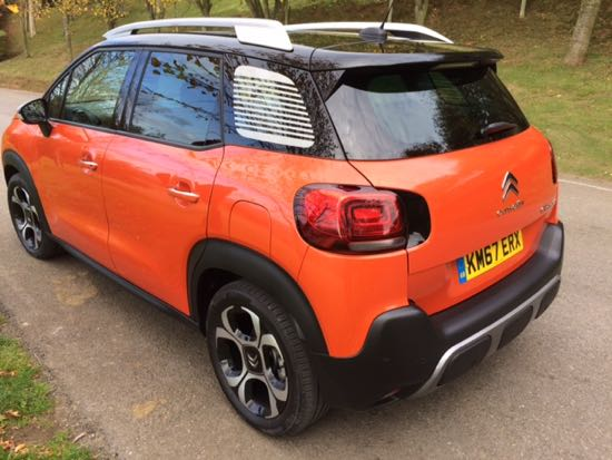 citroen c3 aircross marks new entrant into suv sector wheels within wales. Black Bedroom Furniture Sets. Home Design Ideas