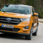 Weekend roadtest: Ford Edge Vignale 210ps automatic