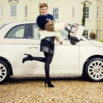 Griffin Mill Fiat dress Cardiff Fashion Week