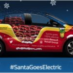 Santa delivers electric message next week