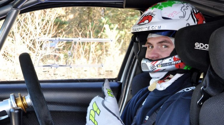 Rally star goes into reverse