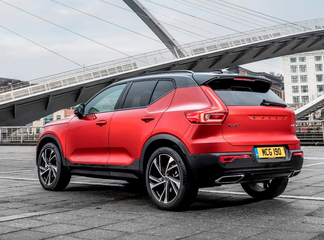 volvo xc40 raises the game wheels within wales. Black Bedroom Furniture Sets. Home Design Ideas