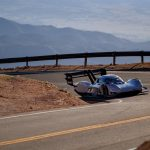 Pikes Peak VW record, from above
