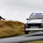 Osian takes Escort Mk2 to Escort Rally Special in Belgium