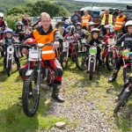 Welsh Youth Trials riders competing at Neath
