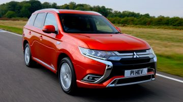 First drive: New Mitsubishi Outlander PHEV 4h SUV