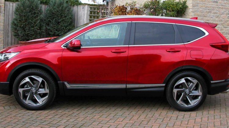 Mid-week wheels: Honda CRV 4WD auto