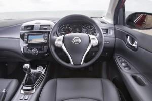 Nissan Pulsar static cabin driver