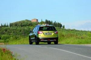 Suzuki S Cross action rear
