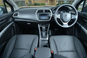 Suzuki S Cross static interior