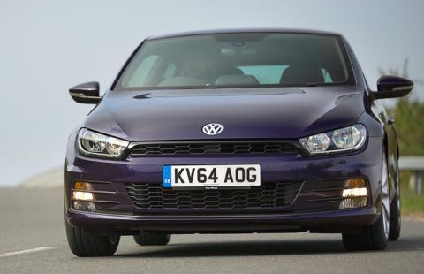 VW Scirocco action front bend