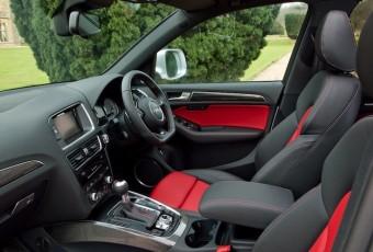 AUDI SQ5 front interior