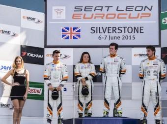 Alex Morgan on left at Silverstone