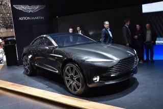 Aston Martin DBX Crossover Geneva 2015