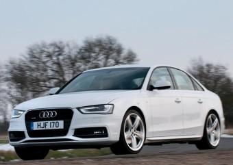 Audi A4 front action low