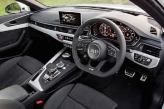 Audi A4 front interior 2016