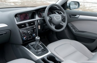 Audi A4 front interior