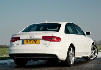 Audi A4 rear static