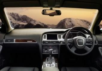 Audi A6 allroad fascia