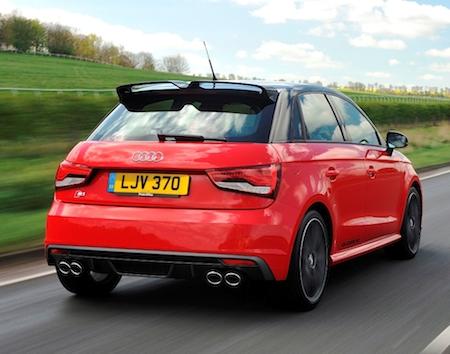 Audi S1 Sportback rear action