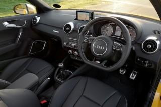 Audi S1 front interior