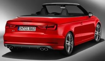 Audi S3 Cabrio back static
