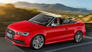 Audi S3 Cabrio side action
