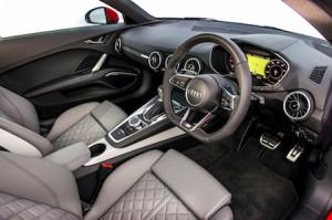 Audi TT Coupe quattro front interior 1