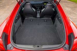 Audi TT Coupe quattro load area