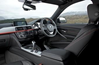 BMW 3 Series Saloon Sport interior
