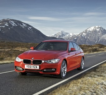 BMW 3 Series Saloon front upright