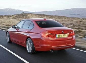 BMW 3 Series Saloon rear action