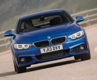 BMW 4 Series Coup front action
