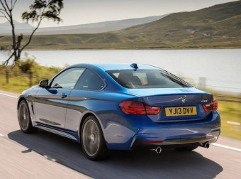 BMW 4 Series Coup rear action