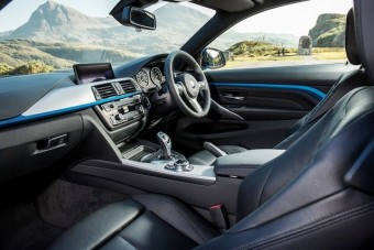 BMW 4 Series Coupe front interior