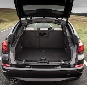 BMW 5 Series Gran Turismo boot
