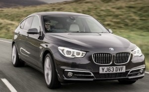 BMW 5 Series front action