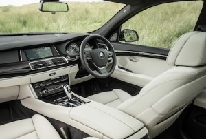 BMW 5 Series front interior
