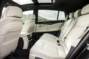 BMW 5 Series seating