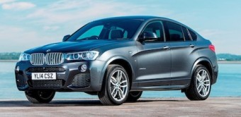 BMW X4 side front
