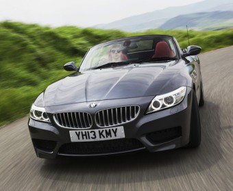 BMW Z4 front action